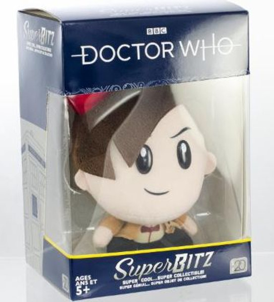 Doctor Who 11th Doctor with Fez SuperBitz Plush