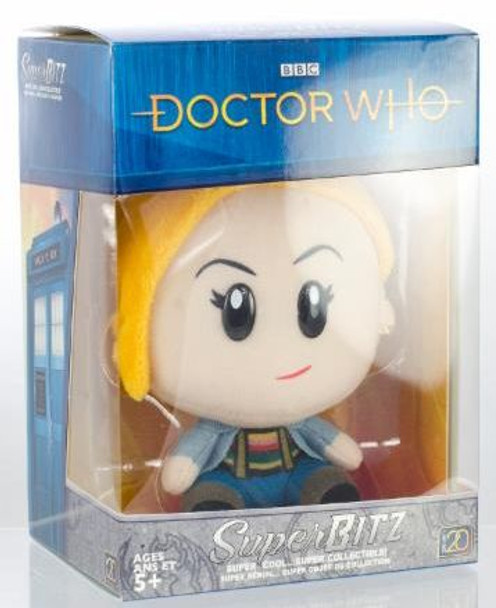 Doctor Who 13th Doctor SuperBitz Plush