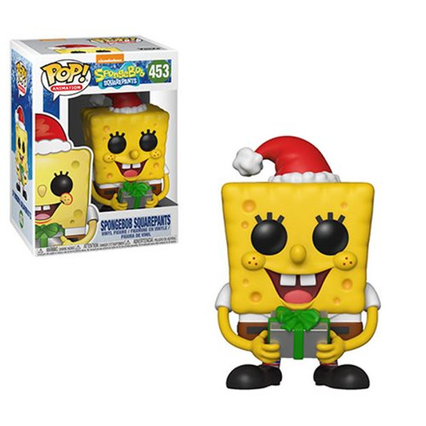 SpongeBob SquarePants Christmas SpongeBob Pop! Vinyl Figure #453