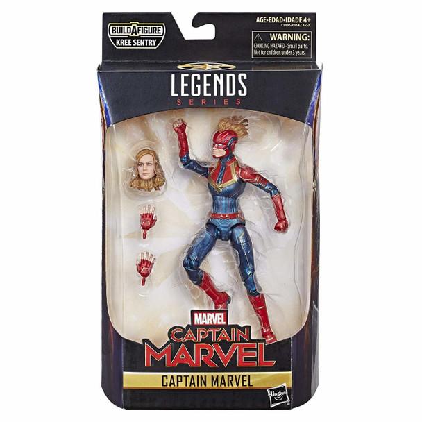 Captain Marvel 6-Inch Marvel Legends Masked Captain Marvel Action Figure
