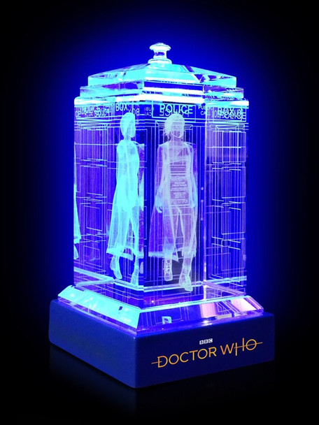 13th Doctor (Jodie Whitaker) Crystal TARDIS - Doctor Who