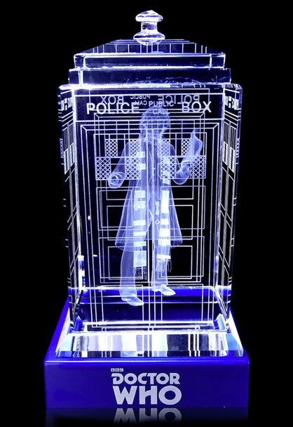4th Doctor (Tom Baker) Crystal TARDIS - Doctor Who