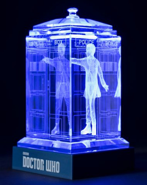 12th Doctor (Peter Capaldi) Crystal TARDIS - Doctor Who
