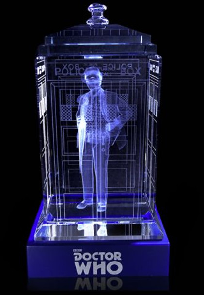 7th Doctor (Sylvester McCoy) Crystal TARDIS - Doctor Who