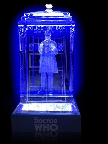 1st Doctor (William Hartnell) Crystal TARDIS - Doctor Who