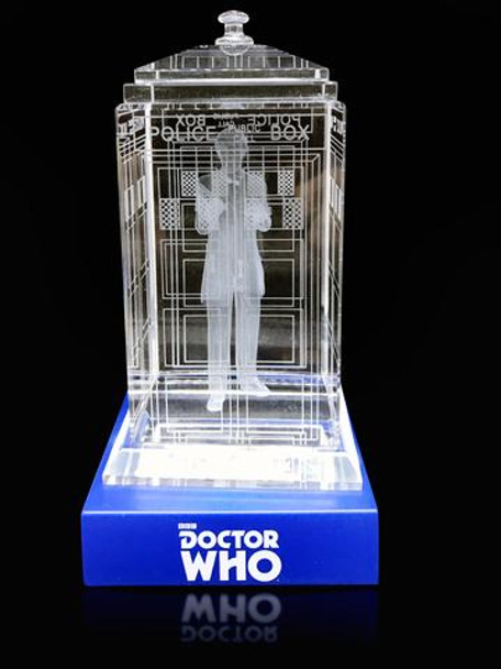 2nd Doctor (Patrick Troughton) Crystal TARDIS - Doctor Who