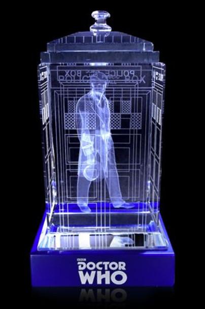 5th Doctor (Peter Davison) Crystal TARDIS - Doctor Who