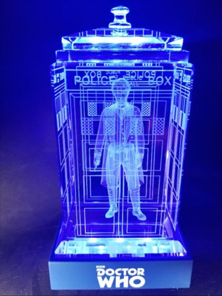 8th Doctor (Paul McGann) Crystal TARDIS - Doctor Who