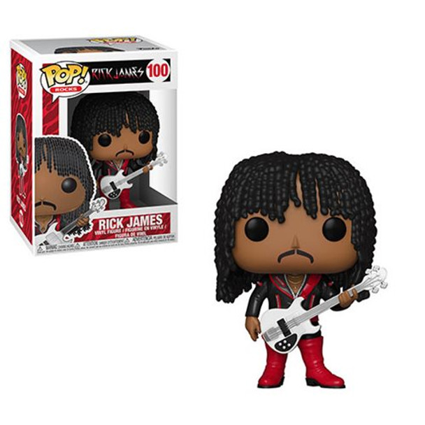 Rick James SuperFreak Pop! Vinyl Figure #100