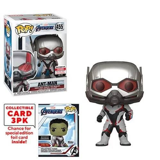 Avengers: Endgame Ant-Man Pop! Vinyl Figure with Collector Cards - Entertainment Earth Exclusive