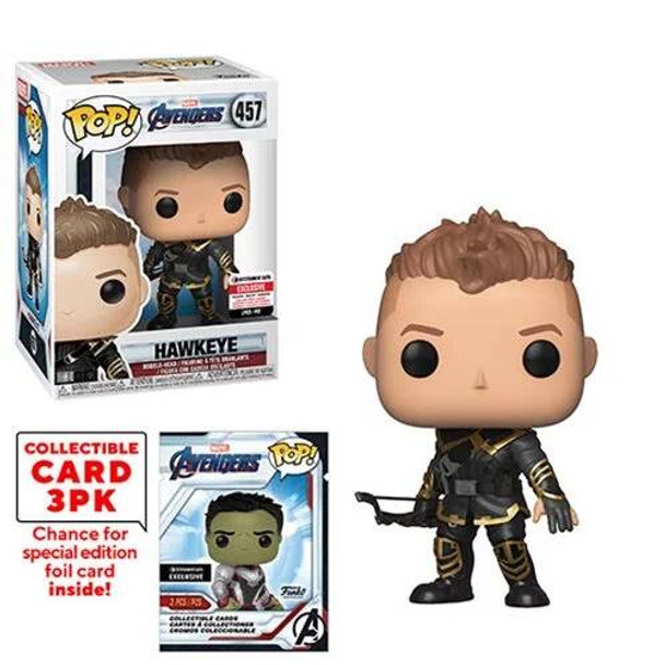 Avengers: Endgame Hawkeye Pop! Vinyl Figure with Collector Cards - Entertainment Earth Exclusive