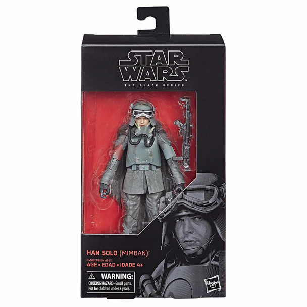 Star Wars The Black Series 6-Inch Action Figure Wave 20 - Han Solo (Mimban)