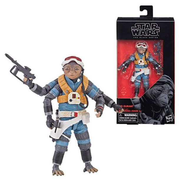 Star Wars The Black Series Rio Durant 6-Inch Action Figure