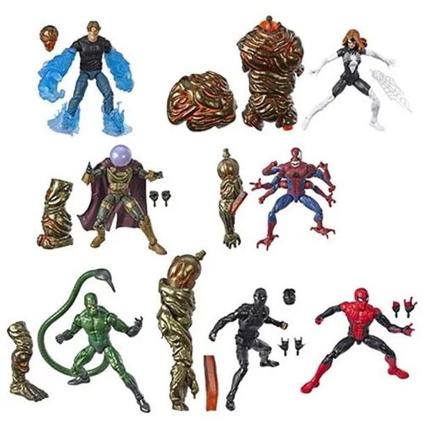 Amazing Spider-Man Marvel Legends Figures Wave 12 Set of 7 (Molten Man BAF)