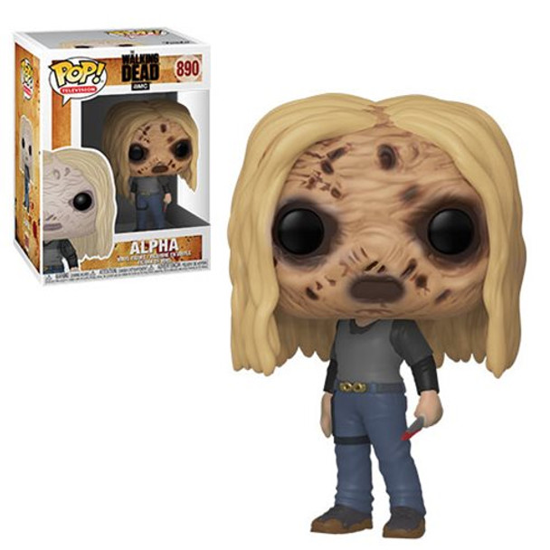 The Walking Dead Alpha with Mask Pop! Vinyl Figure