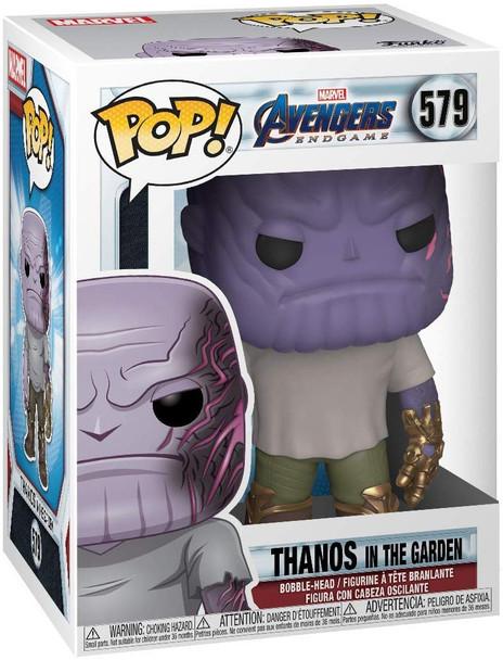 Avengers: Endgame Casual Thanos with Gauntlet Pop! Vinyl Figure