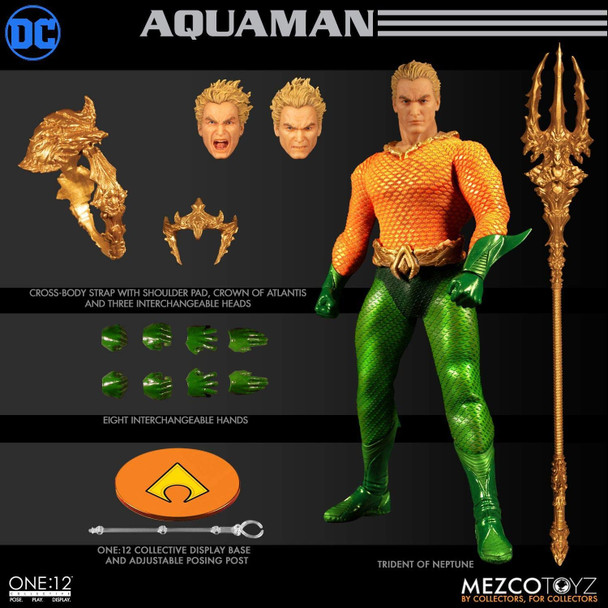 Aquaman Classic Comic Ver. One:12 Collective Action Figure