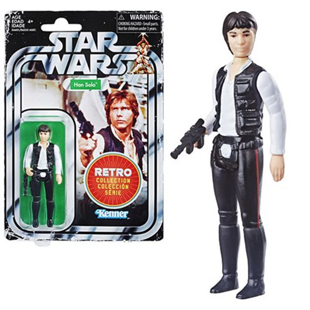 Star Wars The Retro Collection Han Solo Action Figure