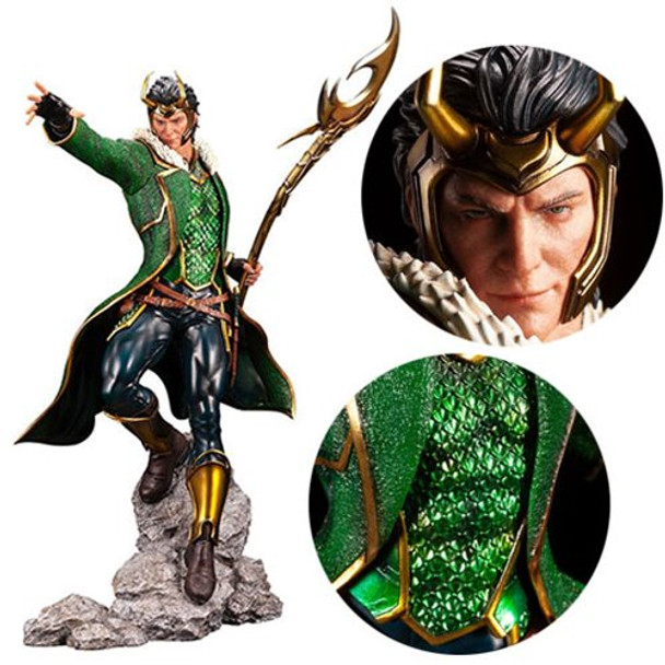 Marvel Universe Loki Limited Edition Premier ARTFX Statue