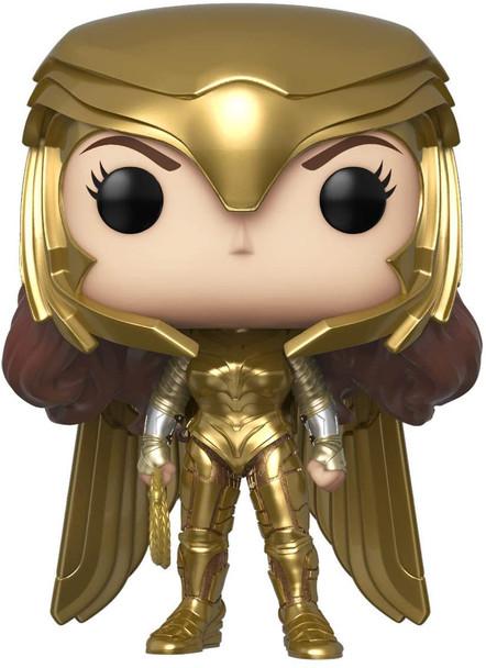 Wonder Woman 1984 Gold Power Metallic Pop! Vinyl Figure