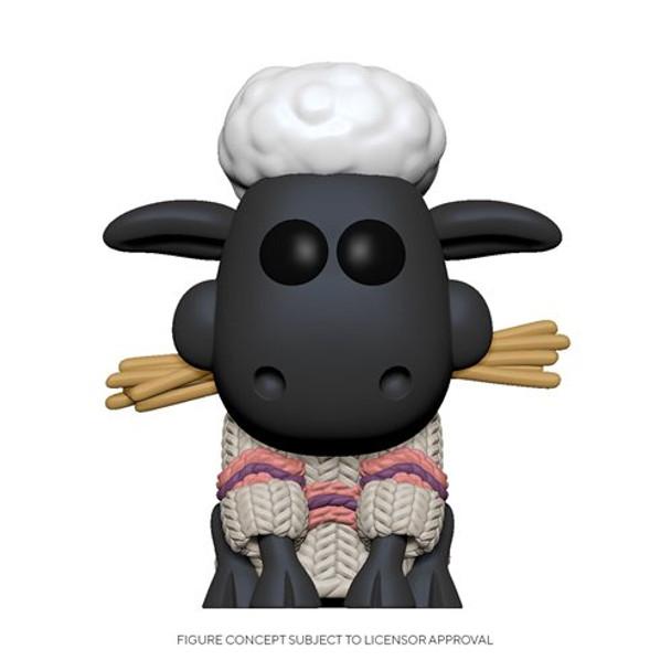 Wallace & Gromit Shaun the Sheep Pop! Vinyl Figure