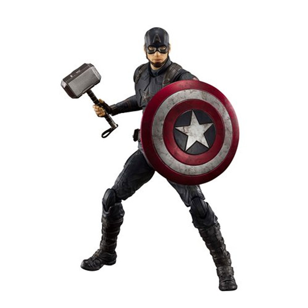 Avengers: Endgame Captain America Final Battle Edition SH Figuarts Action Figure