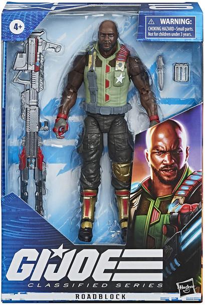 G.I. Joe Classified Series 6-Inch Roadblock Action Figure