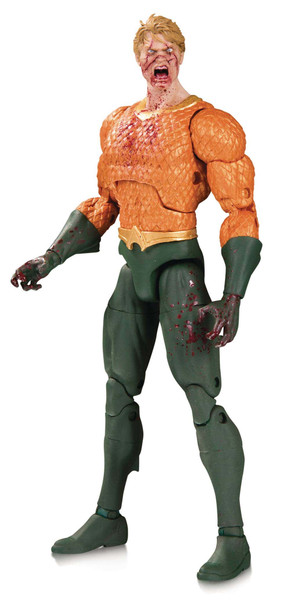 DC Essentials Essentially DCeased Aquaman Action Figure