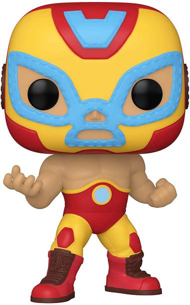 Marvel Luchadores El Heroe Invicto Iron Man Pop! Vinyl Figure