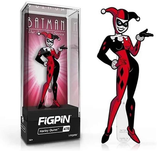 Batman: The Animated Series Harley Quinn FiGPiN Classic Enamel Pin