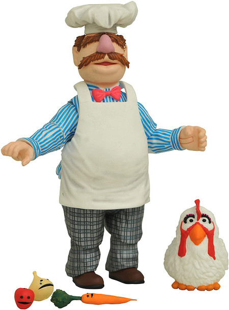 Muppets Best Of Series 1 Swedish Chef Action Figure