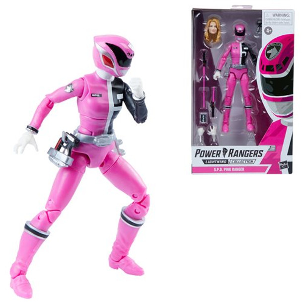 Power Rangers Lightning Collection S.P.D. Pink Ranger 6-Inch Action Figure