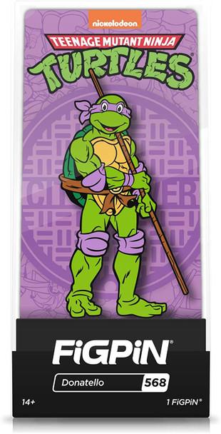 Teenage Mutant Ninja Turtles Donatello FiGPiN Classic Enamel Pin