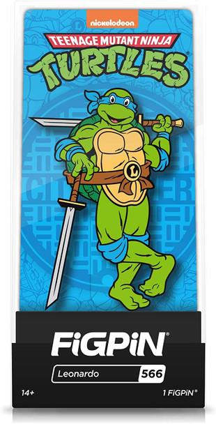 Teenage Mutant Ninja Turtles Leonardo FiGPiN Classic Enamel Pin