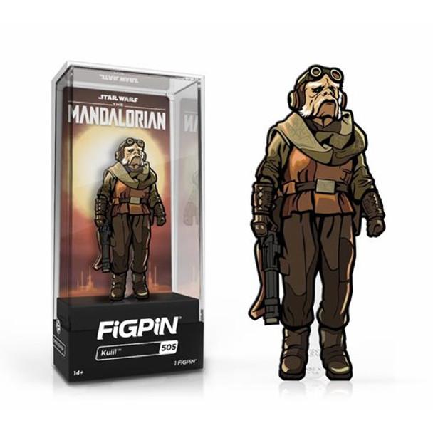 Star Wars: The Mandalorian Kuiil FiGPiN 3-Inch Enamel Pin