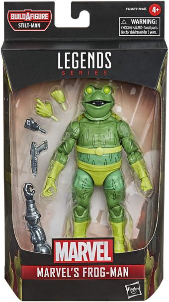 Spider-Man Marvel Legends 6-Inch Frog-Man Action Figure