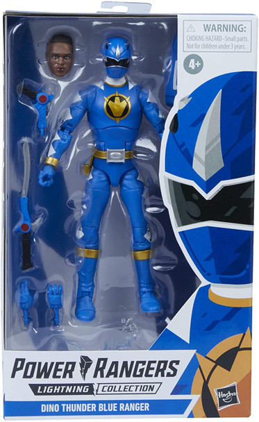 Power Rangers Lightning Collection Dino Thunder Blue Ranger 6-Inch Action Figure