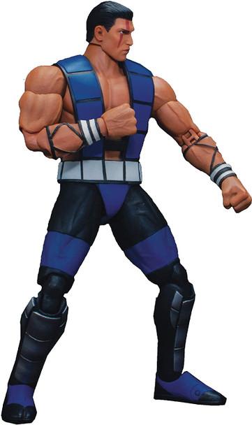 Mortal Kombat 3 Sub-Zero Unmasked 1:12 Scale Action Figure
