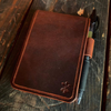 Full Grain Leather Tactical Notepad Holder *Includes 7 Tactical Notepads*