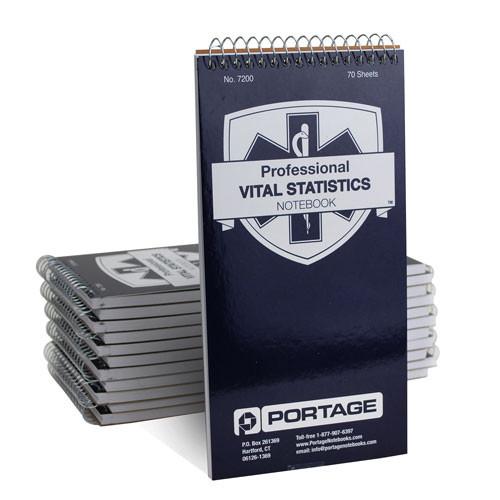 "1 Dozen | Professional EMT / Paramedics Notebooks #7200 | 4"" x 8"""