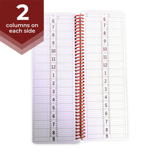 2 Column Appointment Book - 200 Pages
