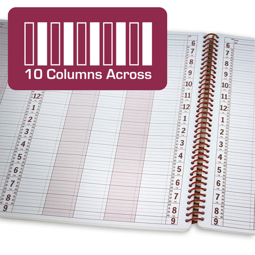 10 Column Appointment Book - 200 Pages