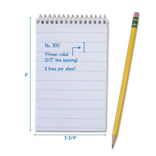 "1 Dozen | THE POCKET Notebook # 300 | Wide Ruled | 3.75"" x 6"""