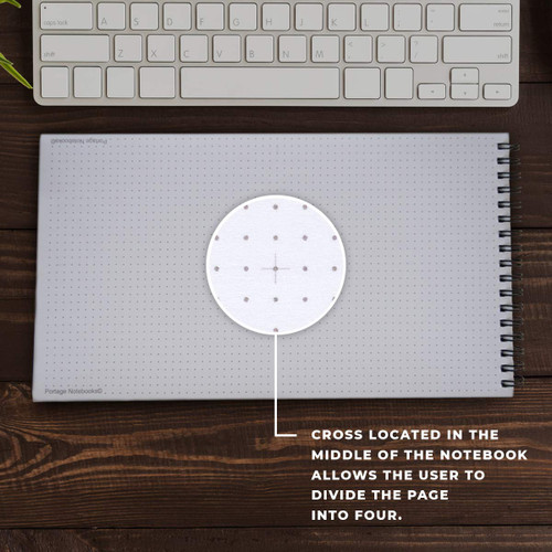 Desktop Companion Grid Dot Notebook