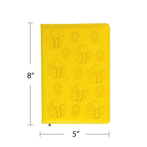 Bumble Bee & Sunflower Softcover Journal
