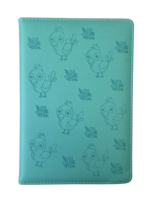 Bird & Baby Blue-eye Softcover Journal