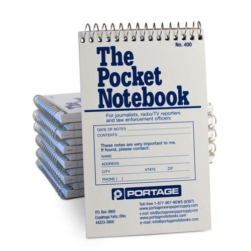 """1 Dozen   THE POCKET Notebook # 400   Narrow Ruled   3.75"""" x 6"""""""