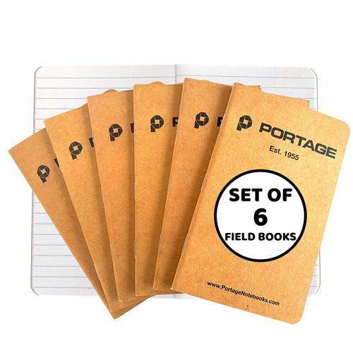 Field Notebooks (6 Pack)