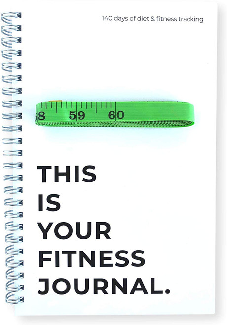 "Your Fitness Journal With 60"" Body Measurement Tape"