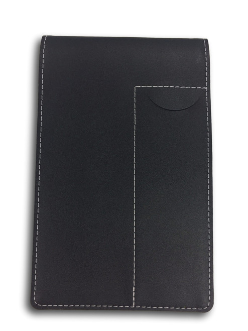 """Leather Pocket Notebook Cover CL-36-BL   3.75"""" x 6"""""""